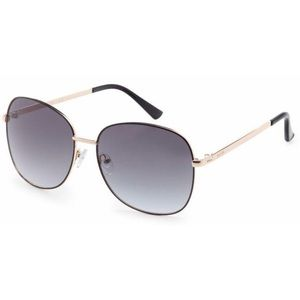 Kenneth Cole REACTION Gold-Tone Metal Sunglasses